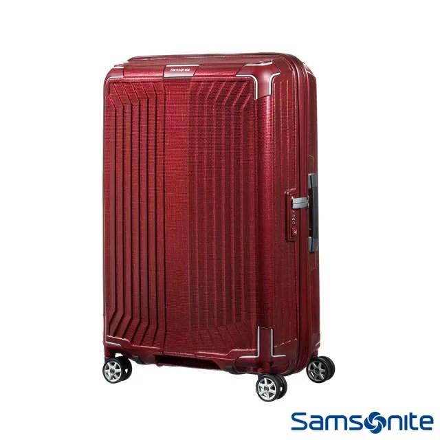 【Samsonite 新秀麗】30吋Lite-Box耐衝擊Curv垂直線條行李箱 多色可選(42N)