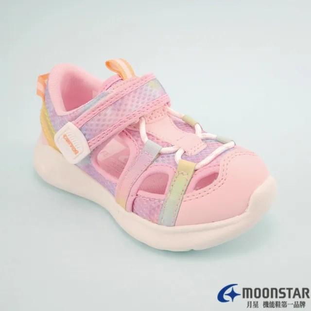 【MOONSTAR 月星】月星童鞋機能護趾涼鞋(CRC22904  15-21公分)