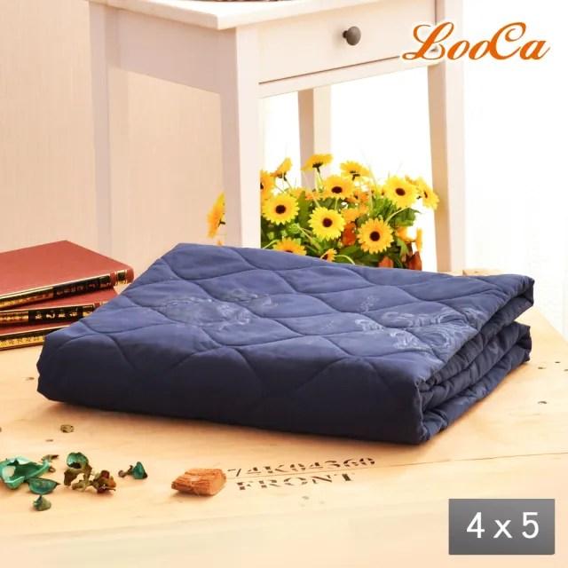 【LooCa】石墨烯遠紅外線抗菌涼被 救命被4x5尺-1入(2款任選-防疫好眠)