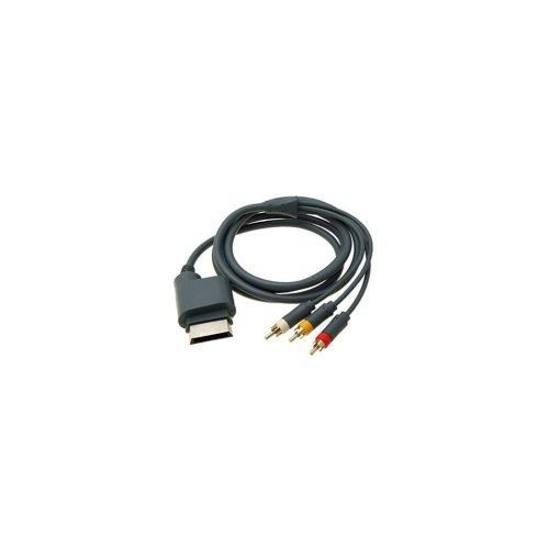 small resolution of av cable for xbox 360 xbox 360 elite microsoft av to rca 1 8m wire zedlabz