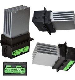 heater blower motor resistor for renault clio mk2 mk3 grandtour megane scenic on onbuy [ 990 x 990 Pixel ]