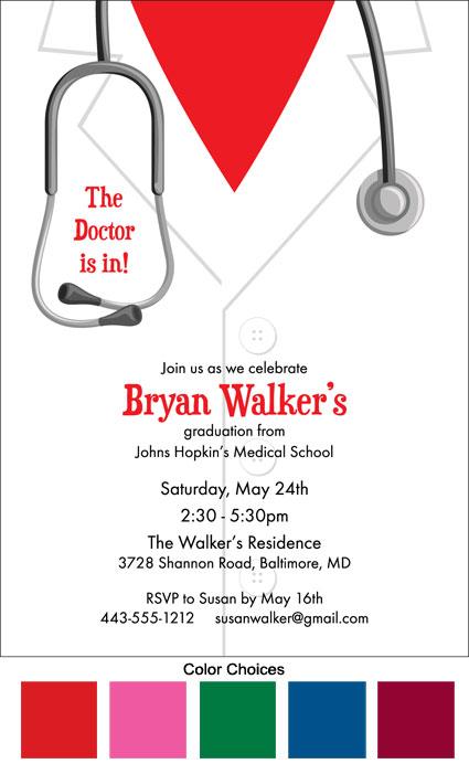 Personalized Graduation Invitation Cards