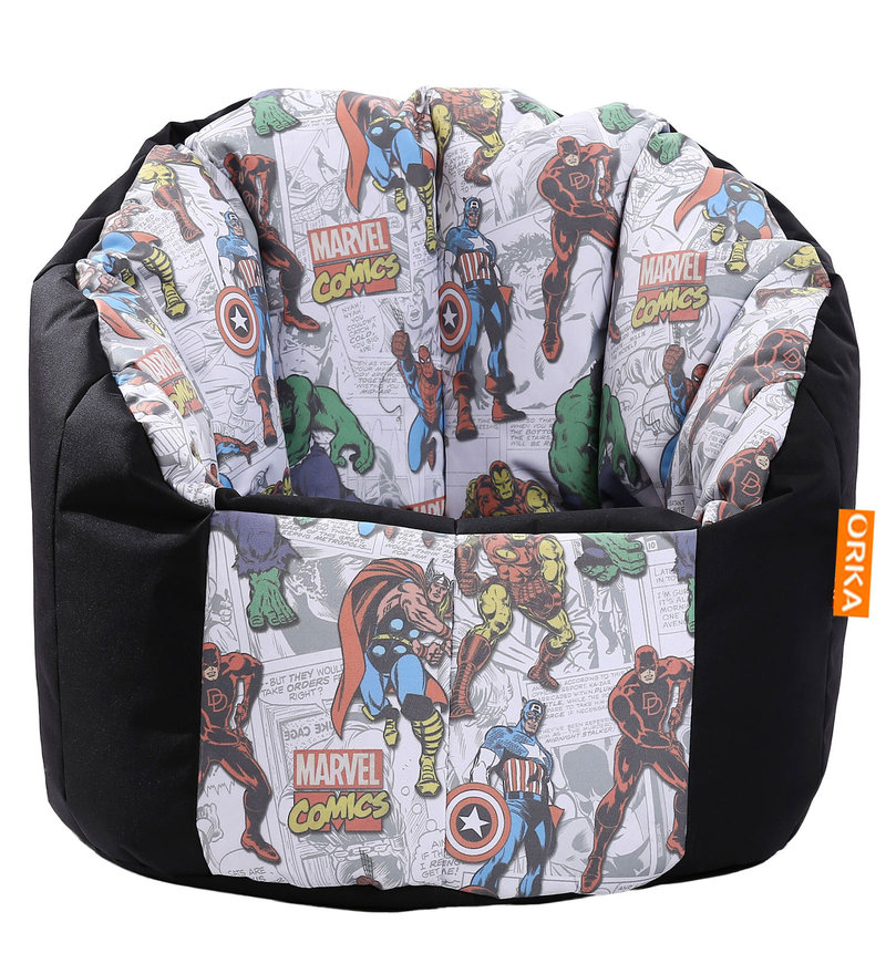what size bean bag chair do i need bubble stand buy avengers sofa cover by orka online - kids covers bags pepperfry