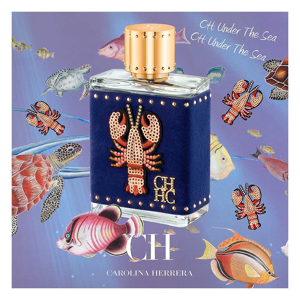 CH MEN UNDER THE SEA limited edition Carolina Herrera · precio - Perfumes  Club