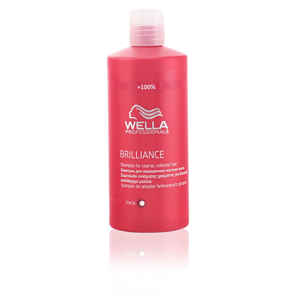 Wella Shampoos BRILLIANCE shampoo for coarse colored hair ...