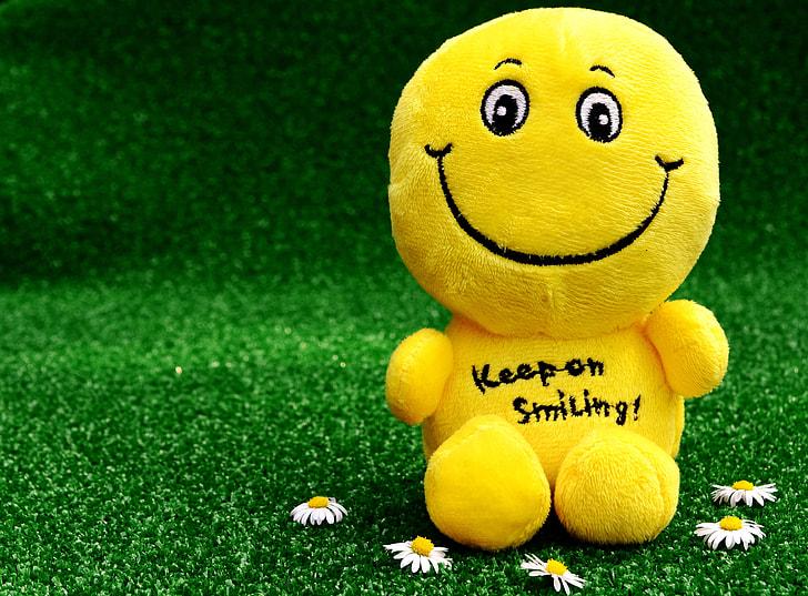 Wasting Time Quotes Wallpaper Royalty Free Photo Yellow Smiley Plush Toy Pickpik