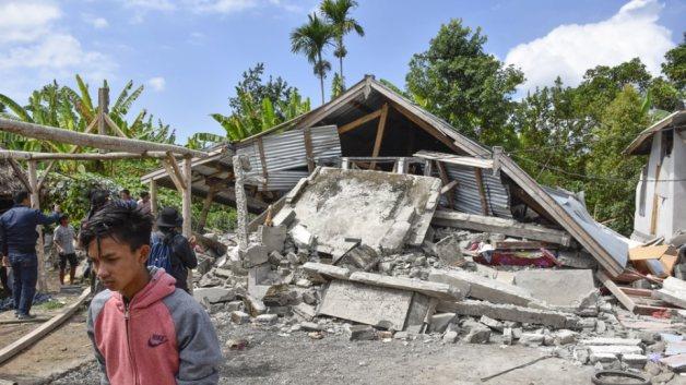 Αποτέλεσμα εικόνας για ινδονησια λομποκ σεισμος
