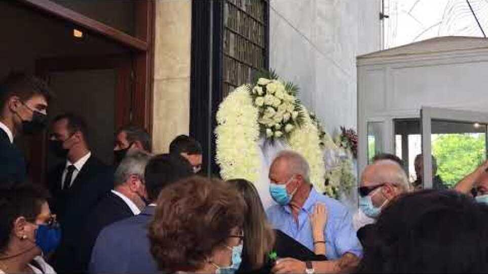 Δάκρυα για την κόρη του Τόλη Βοσκόπουλου