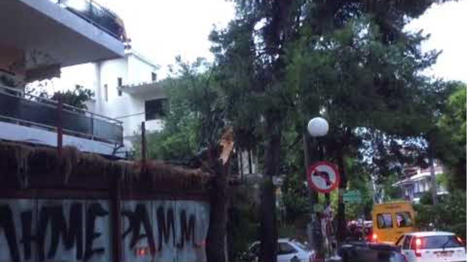 Καταστροφές στο Ν. Ηράκλειο από την κακοκαιρία