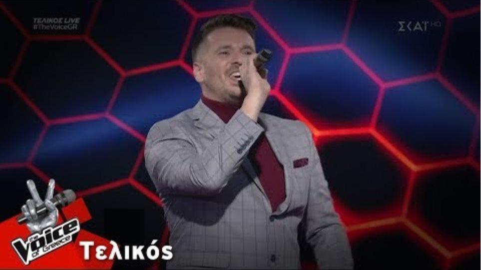Αλέξης Πρεβενάς - Μόνο για σένα | Τελικός | The Voice of Greece