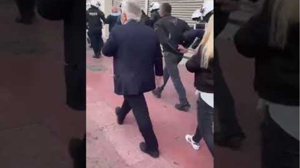 Βίντεο συλληφθέντες του ΚΚΕ προσαγωγές