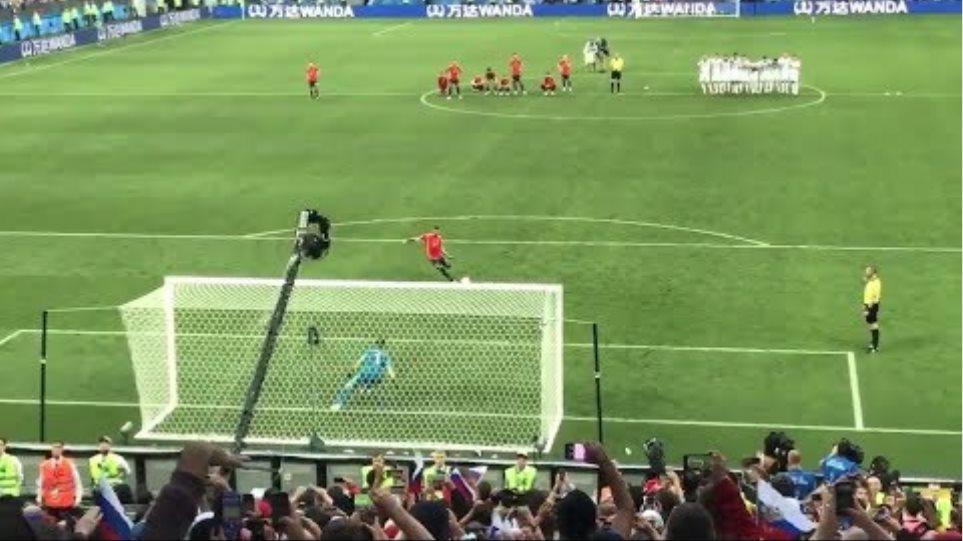 Igor Akinfeev Fantastic Penalty Save ● Spain Vs Russia World Cup 2018
