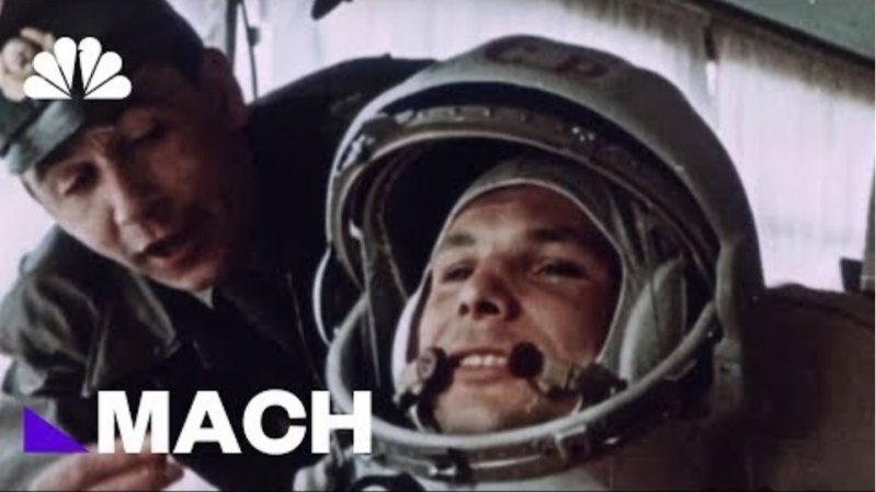 Yuri Gagarin Became The First Human In Space, 57 Years Ago Today   Mach   NBC News