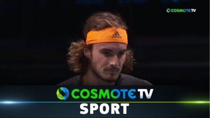 Ντανιίλ Μεντβέντεφ - Στέφανος Τσιτσιπάς (0-2) Highlights - ATP Finals 12/11/19 | COSMOTE SPORT