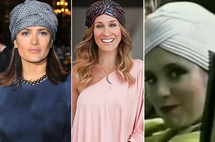 As últimas temporadas foram marcadas pela volta do turbante. De lá para cá, os lenços amarrados nos cabelos viraram febre, inclusive entre famosas como Sar...