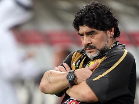 """Maradona negou acusações de que seria """"antibrasileiro"""""""