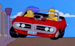 Ao volante desse esportivo americano, Homer Simpson faz a mulher Marge ficar sem fôlego. Não é tão difícil adivinhar, mas nãochega a ser fácil...