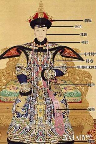 清朝皇后服飾有哪些元素 朝服要佩戴什麼首飾 - 壹讀