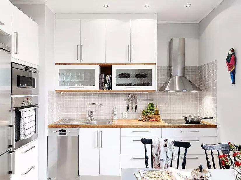 kitchen miniature blue cabinet knobs 微型廚房的規劃大法 小戶型大能量 壹讀 固然如此 小戶型房子還是存在很多弊端的 比如 小戶型的廚房面積都很小 也正因為面積小 很難對廚房進行合理規劃 想要使用的舒適也就比較困難了
