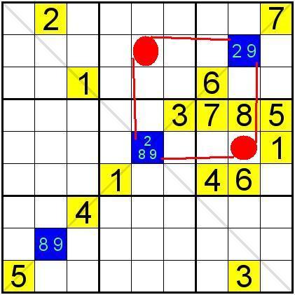 對角線數獨的解題技巧——基礎&提高 - 壹讀