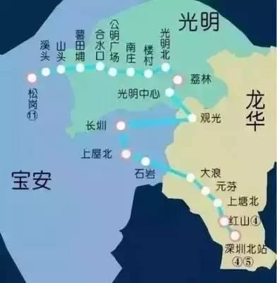 深圳地鐵2030年規劃圖出來了!這9大便利。你還不知道? - 壹讀