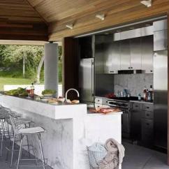 Outdoor Kitchens Ideas Kitchen Cabinets West Palm Beach 17个国外的户外厨房案例 你有过这种想法么 壹读