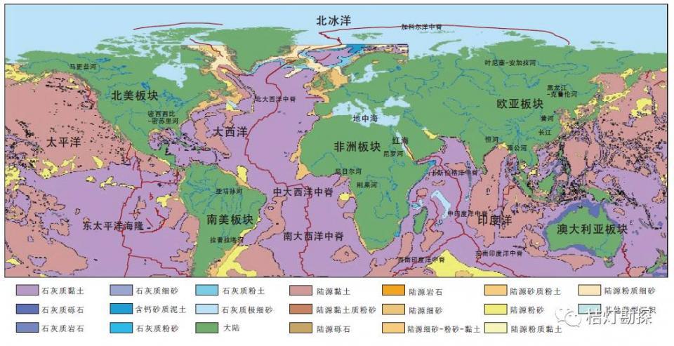 重磅!經典全球構造圖集(75幅)! - 壹讀