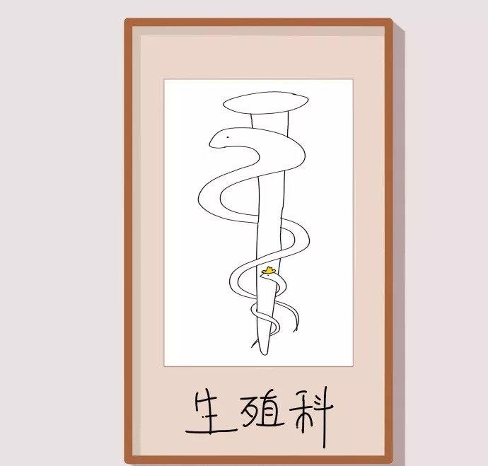 各科室的醫學圖標,這條蛇被玩壞了…… - 壹讀