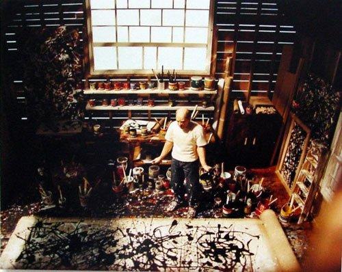 抽象表現主義畫家傑克遜·波洛克 - 壹讀