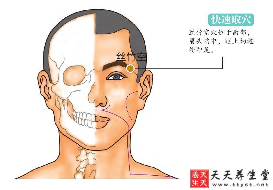【絲竹空】的作用位置功效 頭痛頭暈全沒了 - 壹讀
