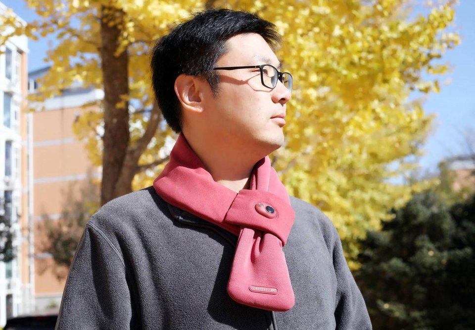 冬天怕凍脖子?一個電熱圍巾就夠了 - 壹讀