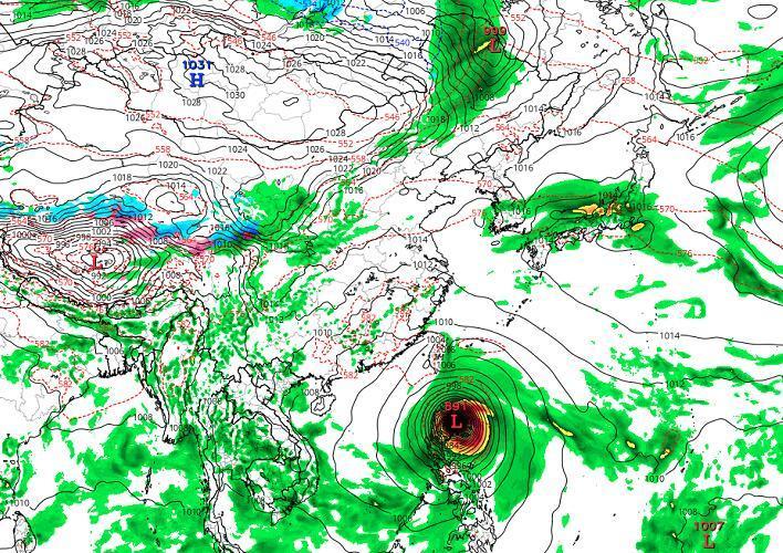 各半!颱風「百里嘉」趨於「散架」!「山竹」路徑仍有懸念 - 壹讀