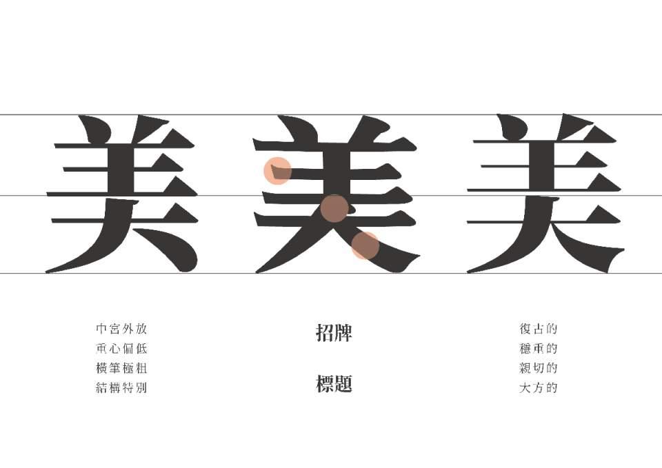 臺灣設計師的復古情懷:美玲體 - 壹讀