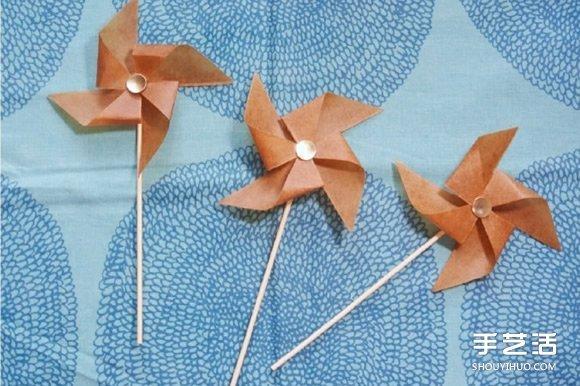 可以吹動的紙風車做法 手工製作會動的風車 - 壹讀