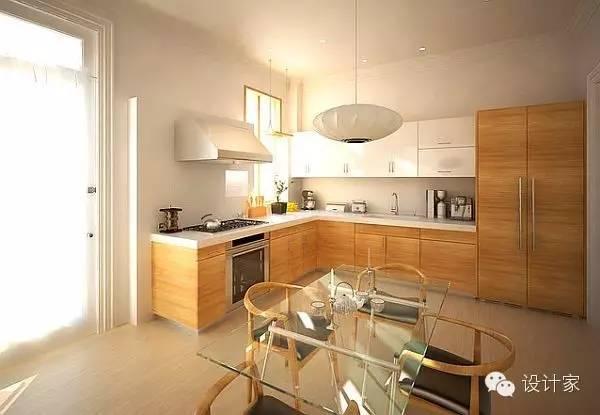 small kitchen table set flat panel cabinets 利用率超高的廚房小餐桌如何設計 壹讀 當然 如果家居面積不算太大 安排好廚房裡的這張餐桌 廚房與餐廳也就合二為一了 把餐桌放進廚房裡 烹飪 就餐 收拾 一氣呵成