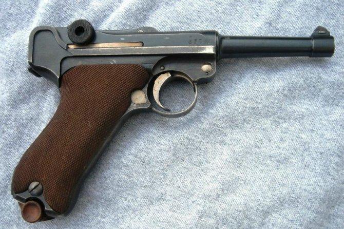 美國大兵爭相收藏的手槍中的貴族-德國魯格P08手槍 - 壹讀