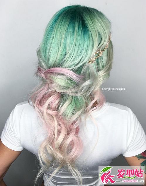 綠色染髮好看嗎?綠色頭髮效果圖大全 - 壹讀