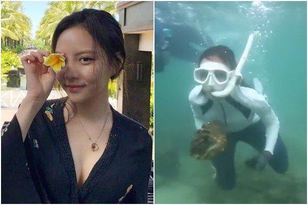 23歲女韓星潛水「爽吃2顆巨蚌」!實境秀惹怒泰國 要求引渡受審 - 壹讀