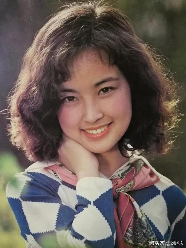 超清純!劉曉慶曬年輕時候的照片並自嘲:很半月的土妞 - 壹讀