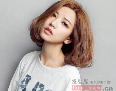 短髮燙髮無劉海全燙女式髮型 - 壹讀