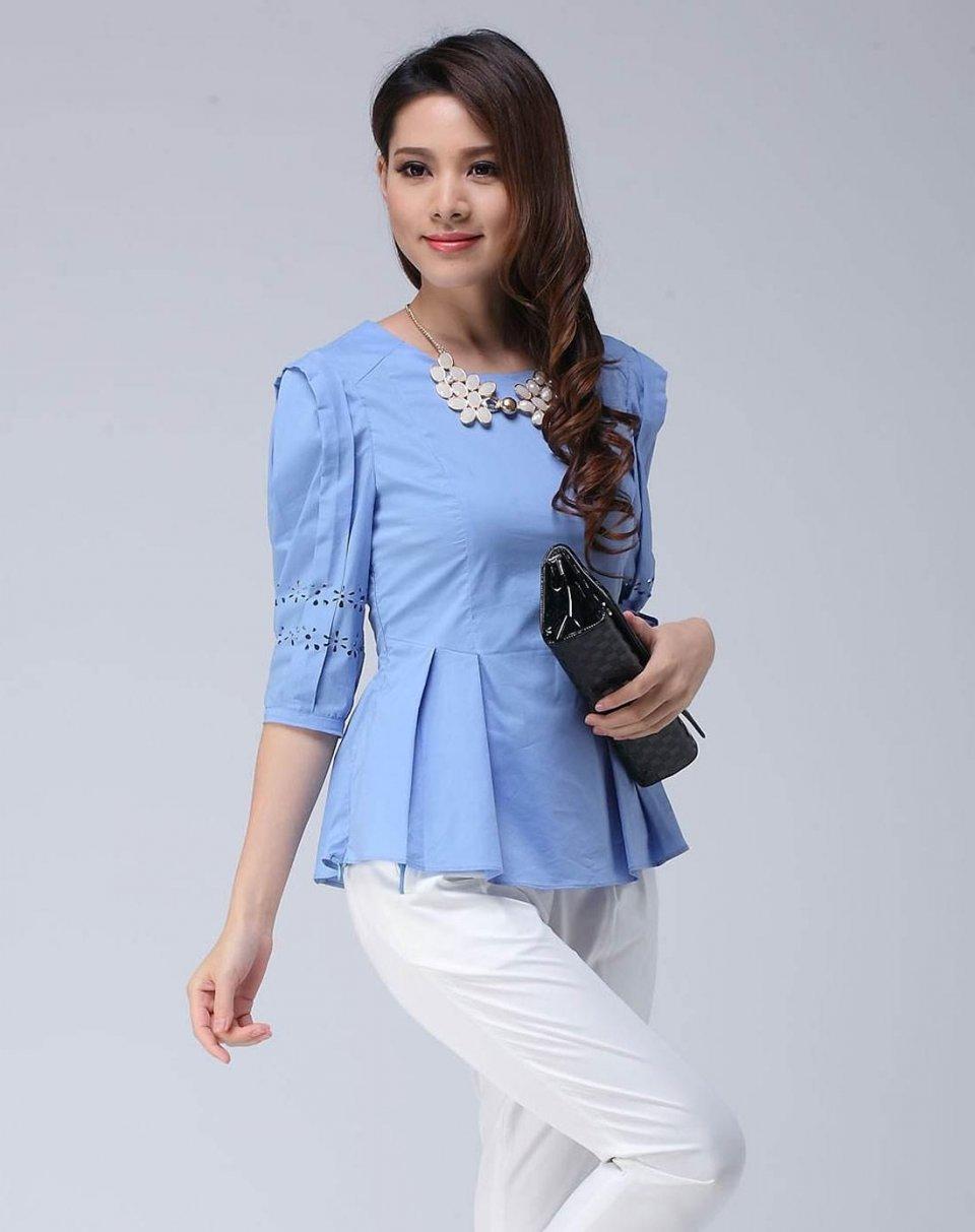 藍色上衣配什麼顏色褲子 4種搭配輕鬆穿出清新夏日風情 - 壹讀