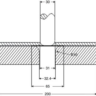 Punch load vs displacement graph from the data acquisition