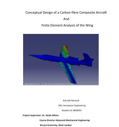 pdf conceptual design of a carbon fiber composite aircraft and fea of the wing [ 850 x 1202 Pixel ]