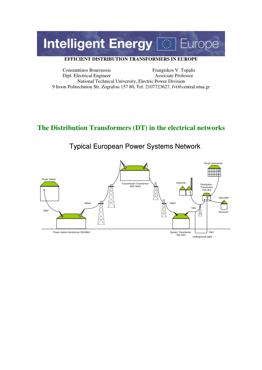 hight resolution of  pdf efficient distribution transformers in europe