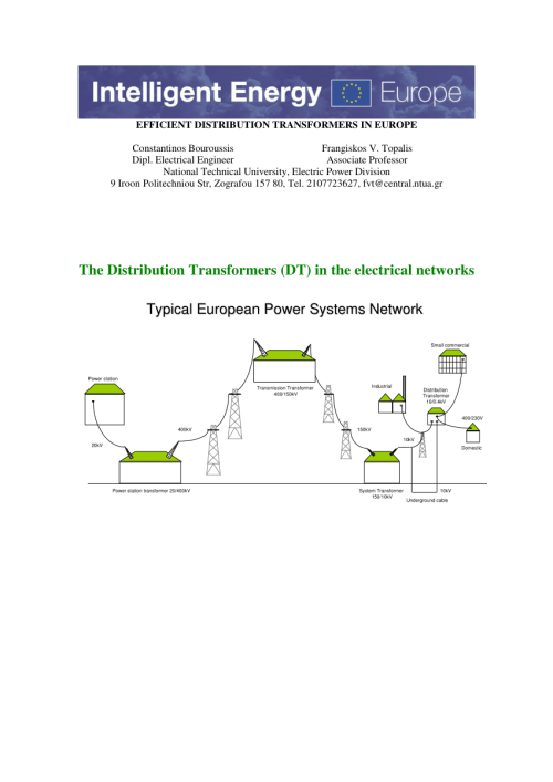 small resolution of  pdf efficient distribution transformers in europe