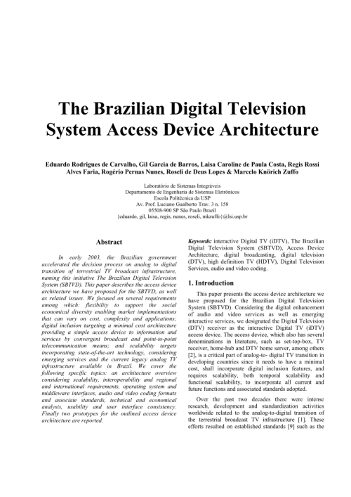 small resolution of  pdf digital television receiver for isdb