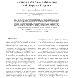 pdf describing use case relationships with sequence diagrams [ 850 x 1098 Pixel ]