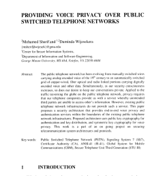 pdf providing voice privacy over public switched telephone networks  [ 850 x 1290 Pixel ]