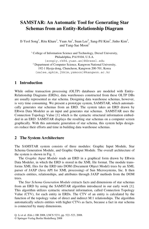small resolution of  pdf samstar an automatic tool for generating star schemas from an entity relationship diagram