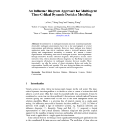 pdf an influence diagram approach for multiagent time critical dynamic decision modeling [ 850 x 1203 Pixel ]